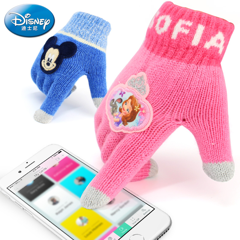 Перчатки детские Disney ds1m021/0