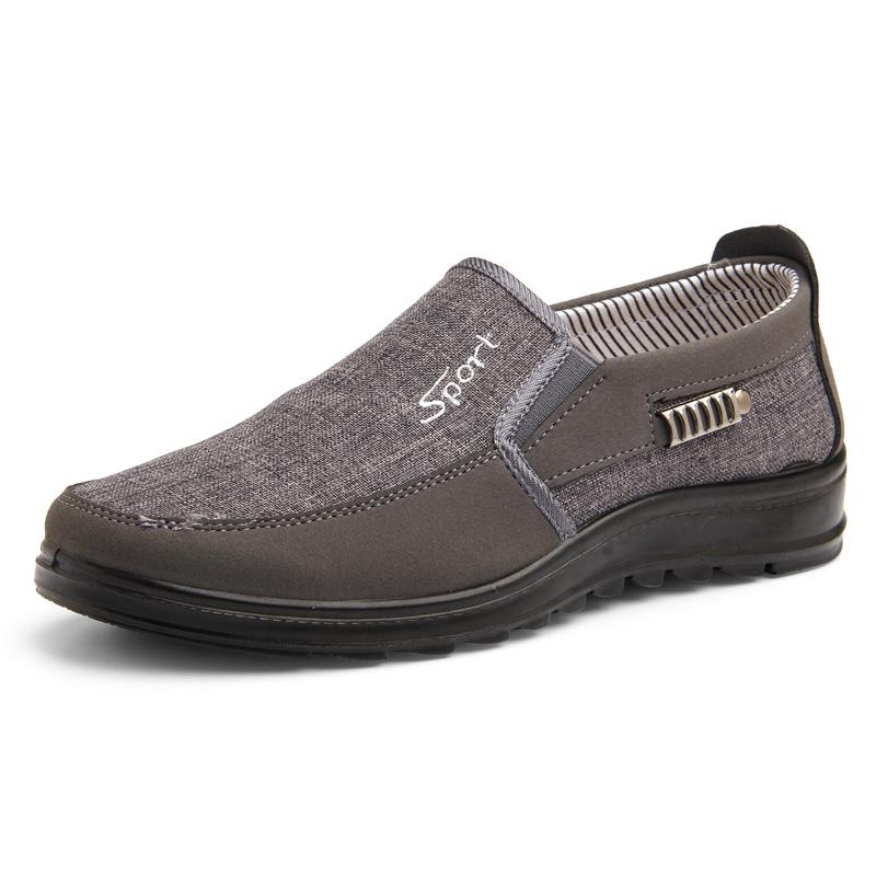 赛格老北京布鞋男士中年50岁爸爸鞋休闲鞋子