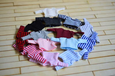taobao agent Molly ob11 beautiful knot pig baby clothes long sleeve T-shirt