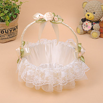 Daily special hand-held rattan weaving high-grade lace wedding wedding flower