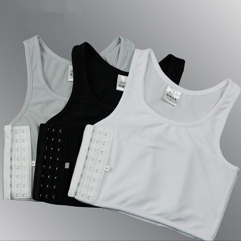 les handsome TT beam chest les short large size women without bandages corset sports vest underwear cos pull pull chest