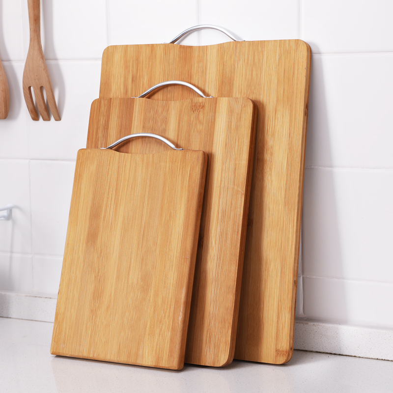 Household kitchen chopping board fruit cutting board mini sticky board  small solid wood mold double-sided cutting board chopping meat chopping  board