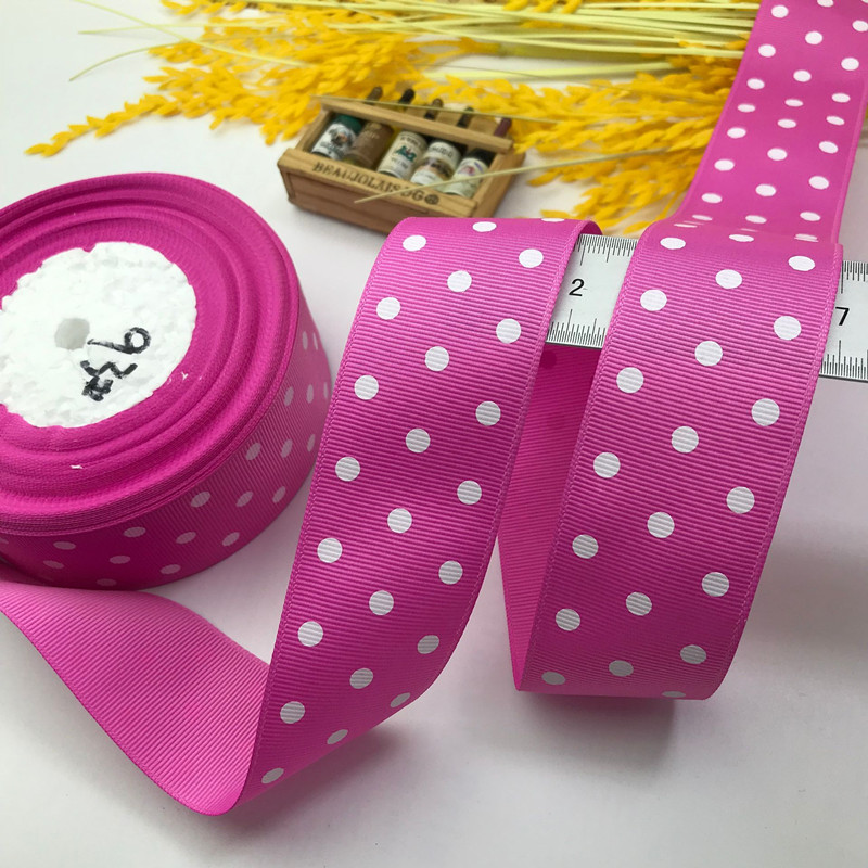 Fuchsia  Powder 3 White Spots 93#22 Meters