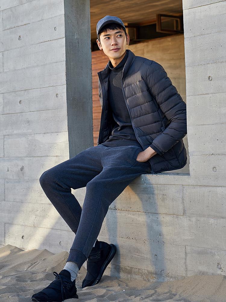 Maxwin 马威 18年冬季新款 男式轻薄羽绒服 聚划算+天猫优惠券折后¥199包邮(¥299-100)多色可选