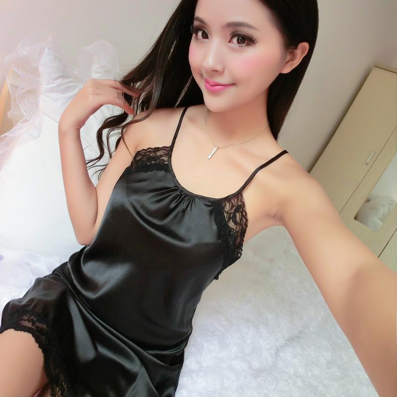 Sexy silk satin skirts