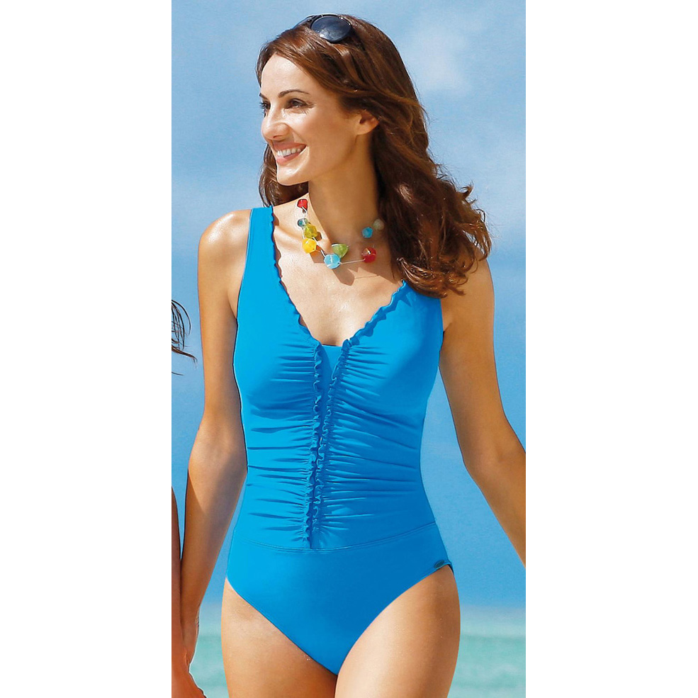 00d8c59ede2a7 Original Single Ladies One-Piece Swimsuit conservative small chest gather  cover belly was thin Korean sexy black professional swimsuit female