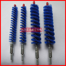 Central air conditioning copper tube condensate pipe cleaning condenser through the gun machine brush