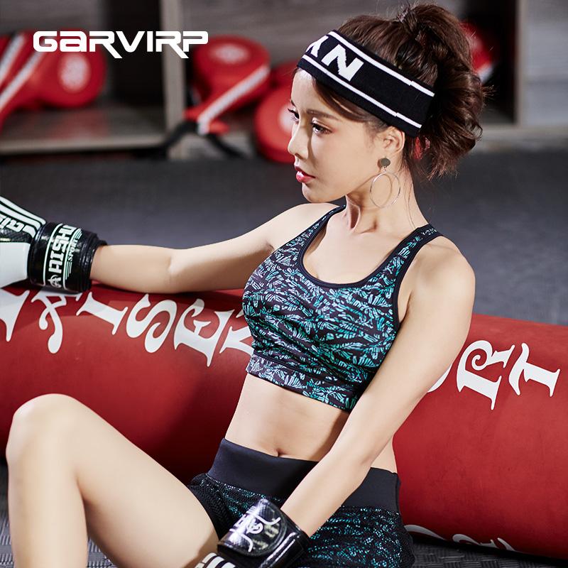 GV高支撑运动内衣女防震 跑步聚拢定型美背文胸瑜伽健身背心式bra_天猫超市优惠券