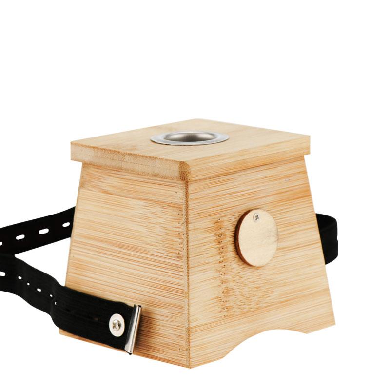 【仙赐】艾炙熏艾草艾条木质艾灸盒