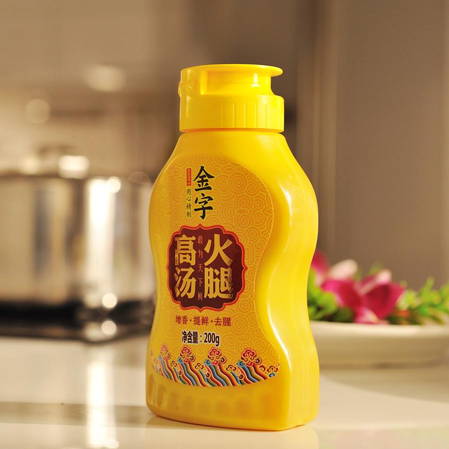 金字 火腿高汤 200g*3瓶 聚划算双重优惠折后¥54.6包邮(拍2件)