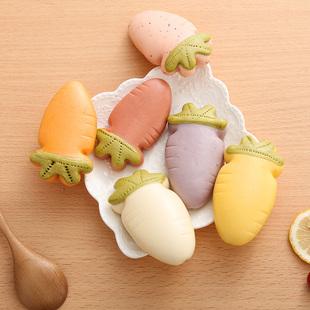 彩色动物馒头_纯手工卡通动物彩色蔬果萝卜馒头宝宝辅食营养早餐速冻包子包邮