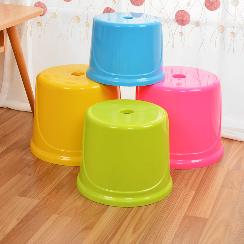 Magnificent Small Round Stool Plastic Stool Bench Childrens Home Stool Adult Thickening Shoe Bench Coffee Table Home Small Chair Ncnpc Chair Design For Home Ncnpcorg