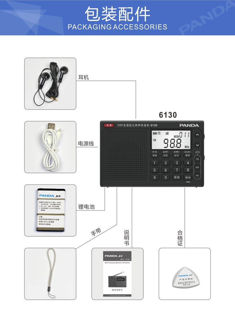 Радиоприёмник PANDA SOFTWARE  PANDA/6130
