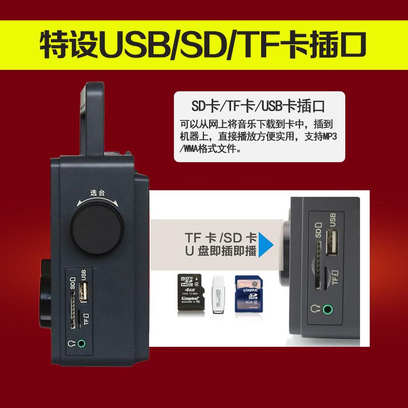 Радиоприёмник PANDA SOFTWARE  PANDA/T-09 FM MP3 SD Tf