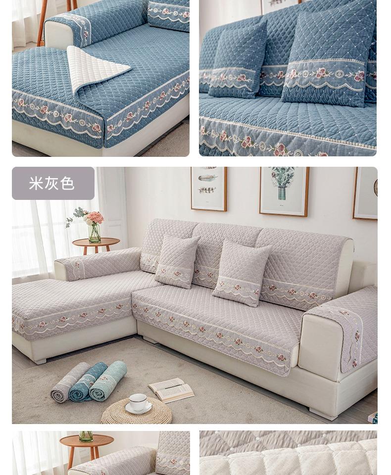 沙发坐垫家用四季简约现代通用布艺全包坐垫定制防滑沙发套商品详情图