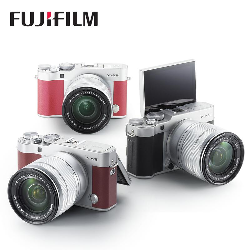 [送300礼包]Fujifilm/富士 X-A3套机(16-50mmII)富士XA3微单相机