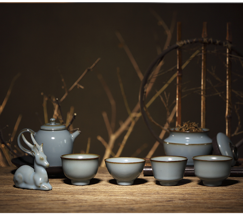 Three frequently hall your up glaze sample tea cup of jingdezhen ceramic cups kung fu tea set personal single cup cup S44050 master