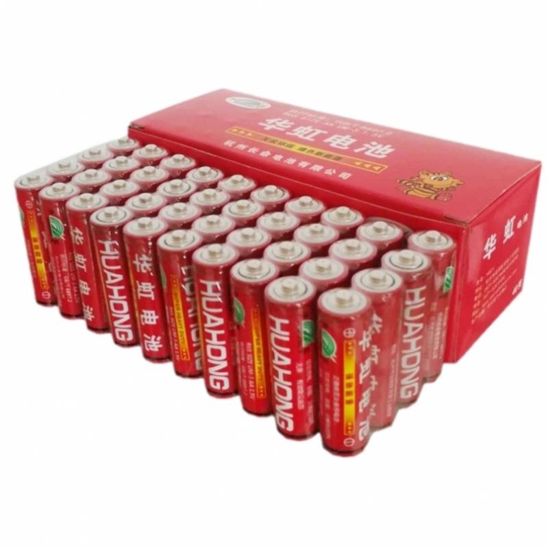 正品华虹5号电池40粒普通五号