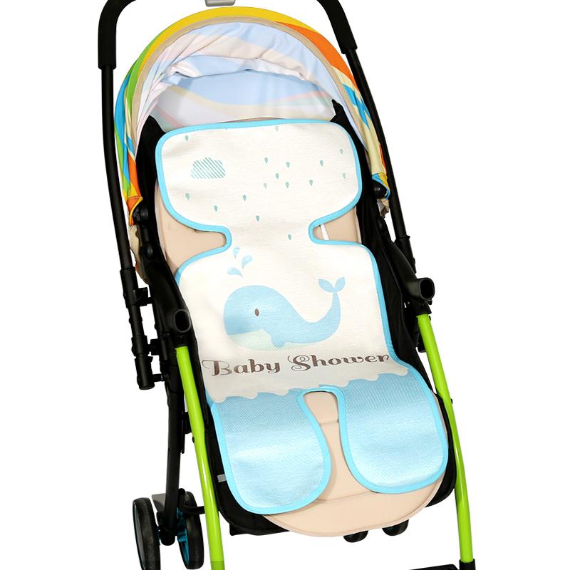 婴儿车凉席冰丝凉席垫夏季童车席子-券后9.90元