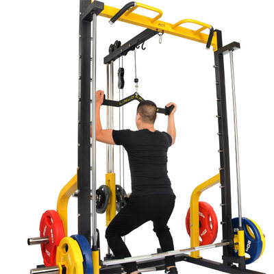 High drop handle low pull pair holding back fitness accessories sitting post Ship trains back muscle gantry pull back training