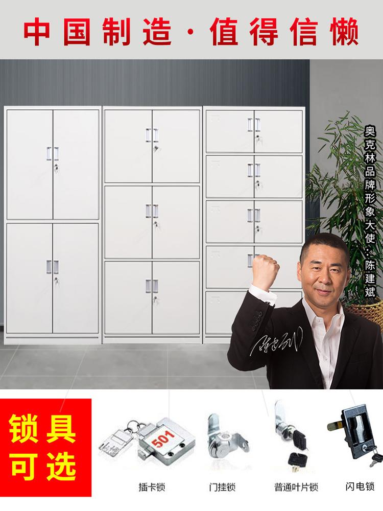 Oaklin steel office filing cabinet Iron cabinet Filing cabinet Data cabinet Financial certificate cabinet Lockable storage cabinet