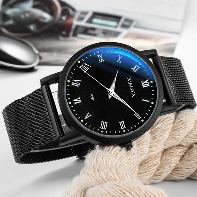 2018 new watch male student Korean version of the simple trend casual atmosphere luminous middle school students non-mechanical watch female