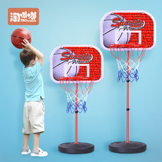 Children's outdoor basketball rack can lift indoor shooting box home 2-3-5 baby toys 8-year-old boy 6 kids 4