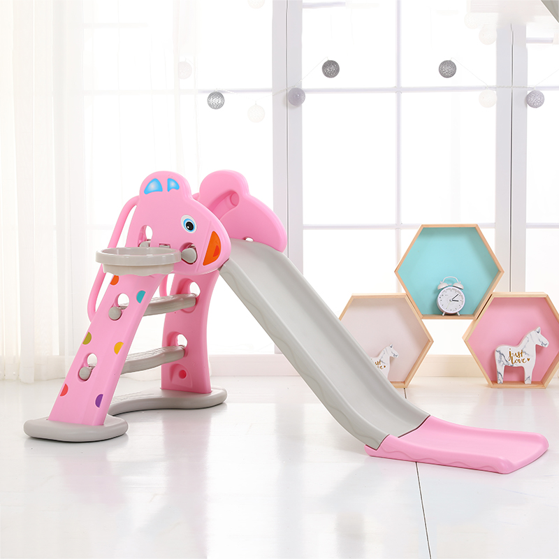 New slide pink + basket + base