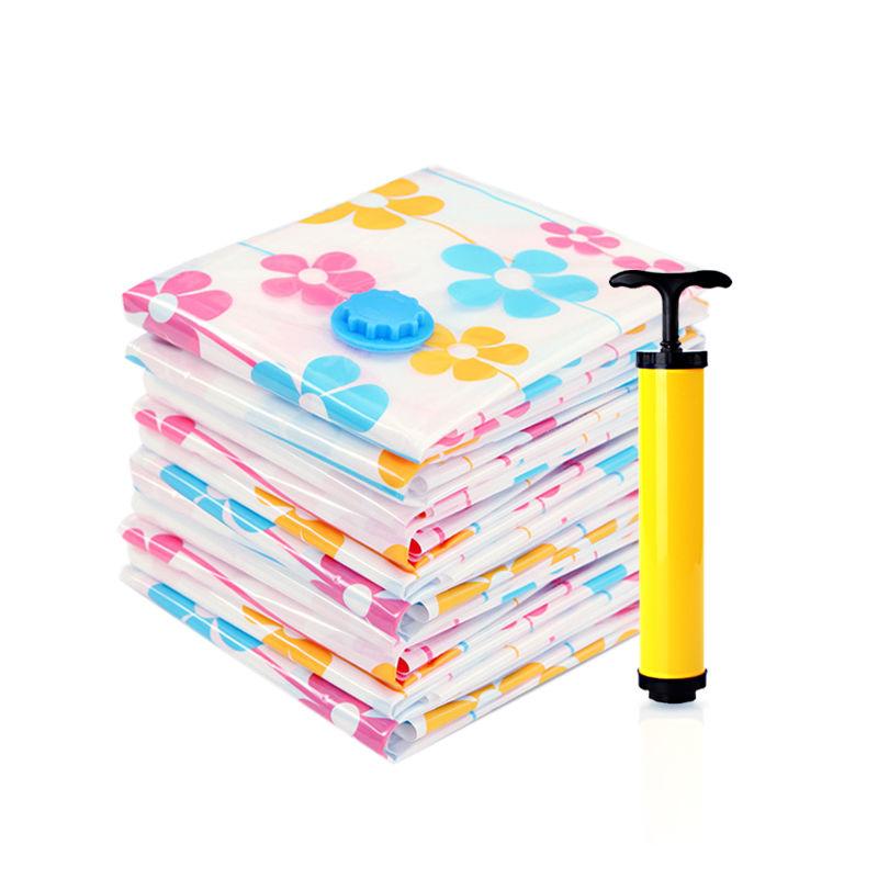 真空压缩袋大号S衣服棉被子收纳4大4中1手泵可选