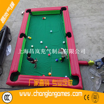 Fun match sports inflatable table football live-action billiards football game