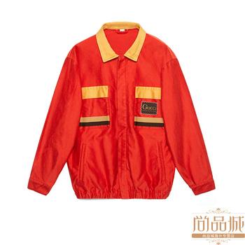 Gucci/ gucci 2020 метров мужской  Orgasmique негабаритный свободный движение хлопок куртка 611771, цена 287082 руб