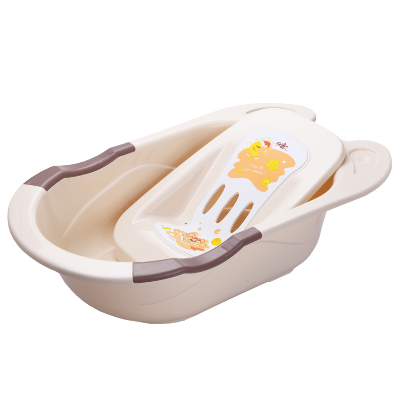 Rikang baby bath baby tub large thickening can sit lying children ...