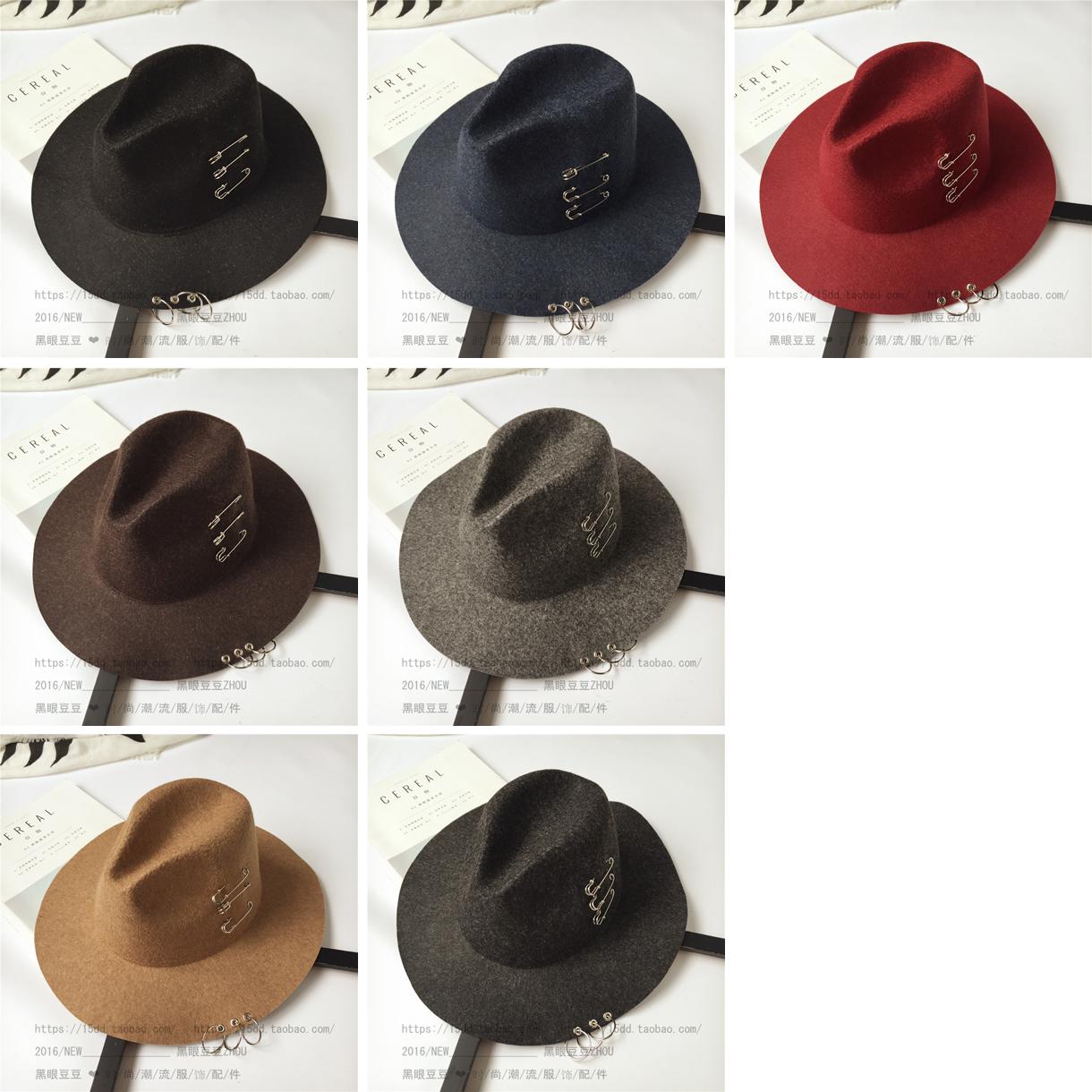 Chapeau pour homme cône en mélange de laine - Ref 1926046 Image 8