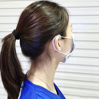 不勒耳朵护耳口罩防勒耳朵疼痛套透白耳护防耳痛挂扣缓解勒脸正品