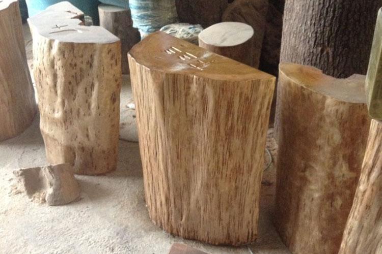 墩大板支架原木根雕底座茶桌腿半圆木墩底座圆木木墩树桩