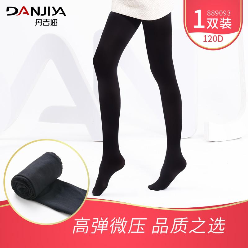 Vớ đen phần mỏng pantyhose chống móc lụa dày nhung mỏng xà cạp vớ nữ mùa xuân và mùa thu kích thước lớn