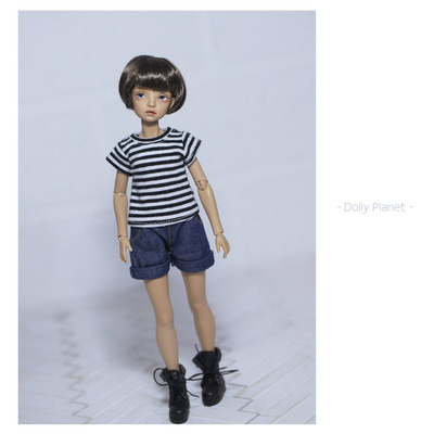 taobao agent 【DollyPlanet】Blythe cloth/OB24/Azone/Licca baby clothes denim shorts