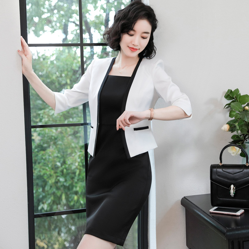 Usd 114 23 Spring And Summer Occupation Wear Women S Dress Suit