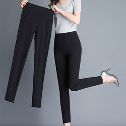 Leggings women's wear spring and autumn 2021 new summer thin Capris tight high waist small feet big mom pants