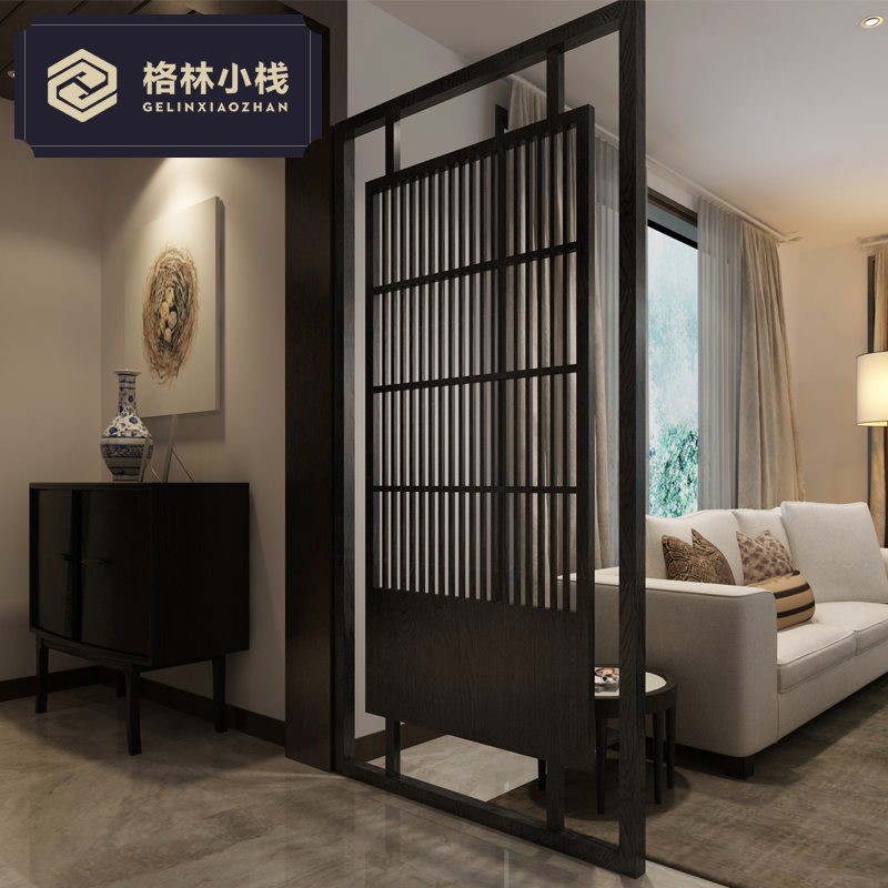 Современный простой дерево гостиная отрезать экран китайский стиль вход сиденье экран офис комната отели отрезать творческий сделанный на заказ