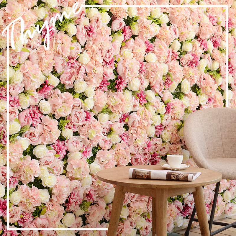 USD 96.63] Mo song Stereo simulation peony flower wall decoration ...