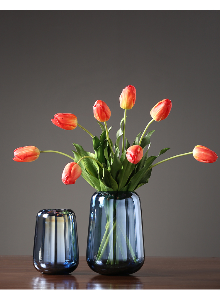 〖洋碼頭〗北歐花瓶擺件客廳插花玻璃水培餐桌電視櫃家居裝飾品幹花器擺設 ywj679