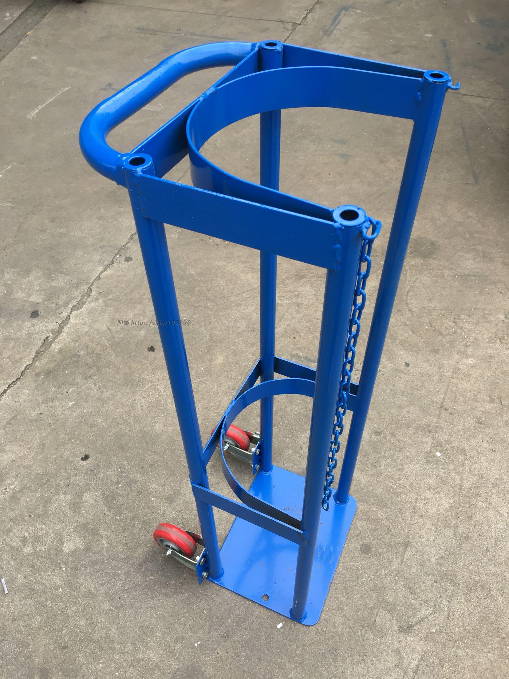 40L Laboratory Cylinder Fixed Stand Gas Cylinder Fixed Stand Gas Cylinder  Stand Oxygen Acetylene Nitrogen Storage Stand Spot Supply