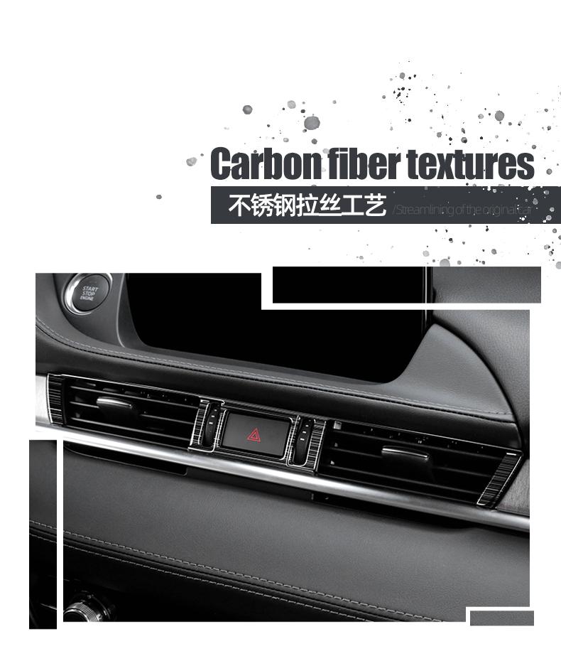 Ốp điều hòa trung tâm đen titan  Mazda 6 2020 - ảnh 5
