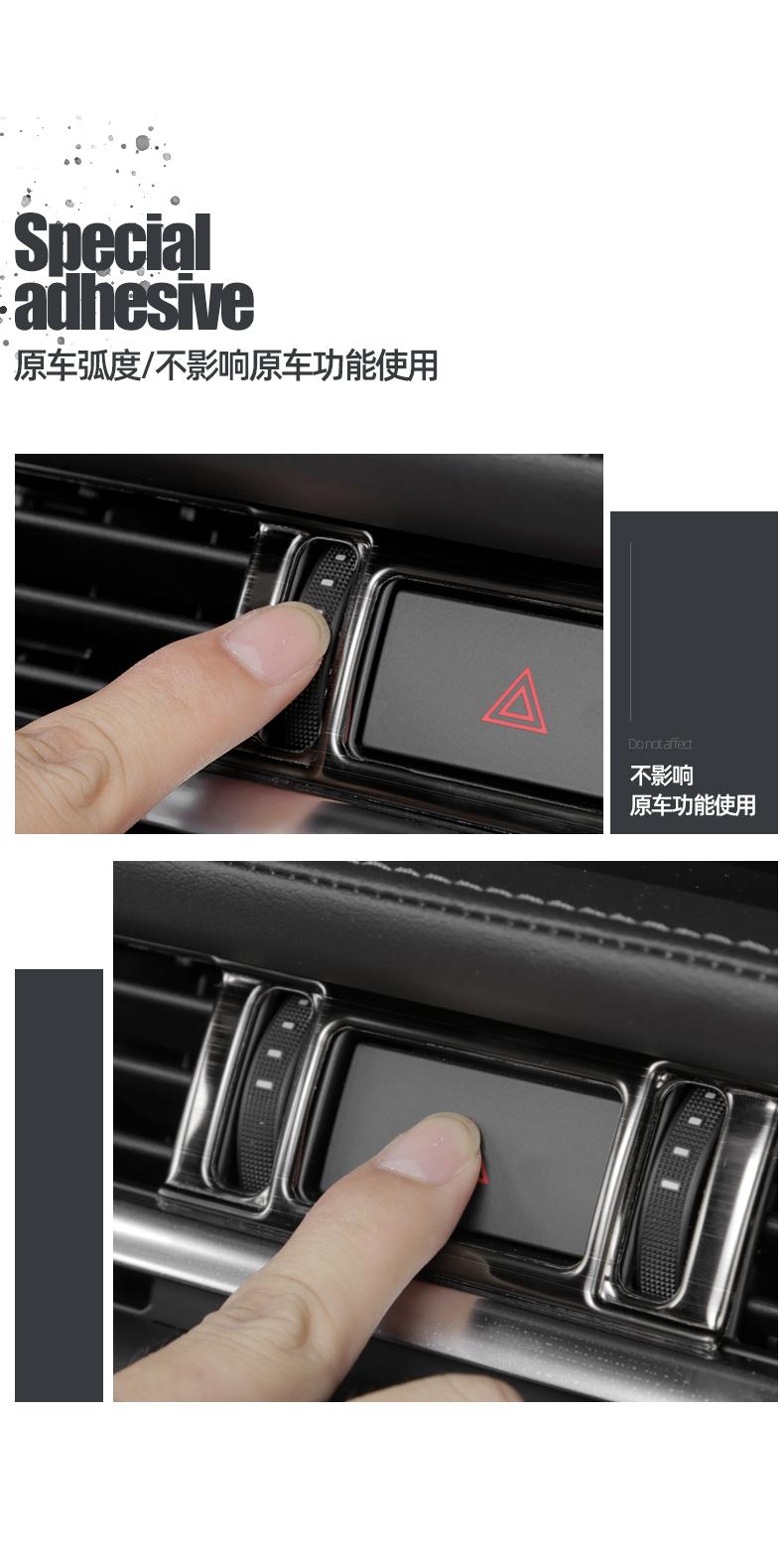 Ốp điều hòa trung tâm đen titan  Mazda 6 2020 - ảnh 6