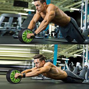 健腹轮健身器材家用初学者女腹健轮收腹卷腹运动滚轮男锻炼腹肌轮