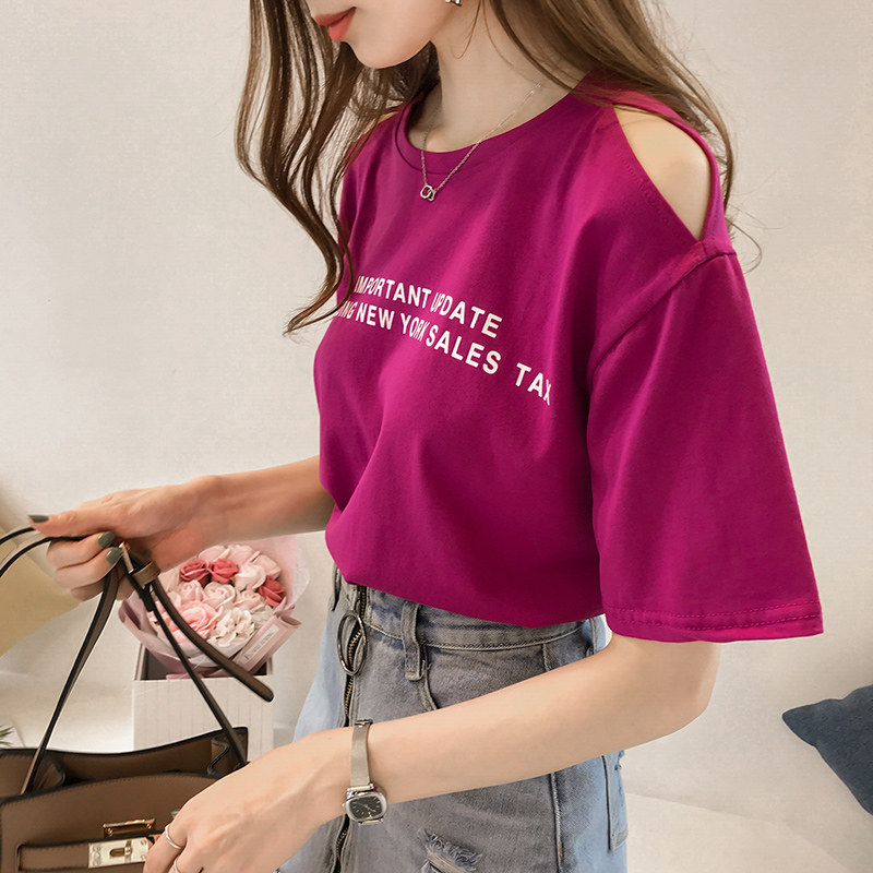 Summer Style New Letter Print,...
