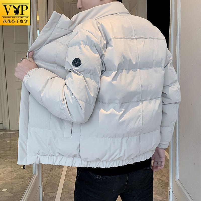 花花公子贵宾冬季新款羽绒棉衣棉袄