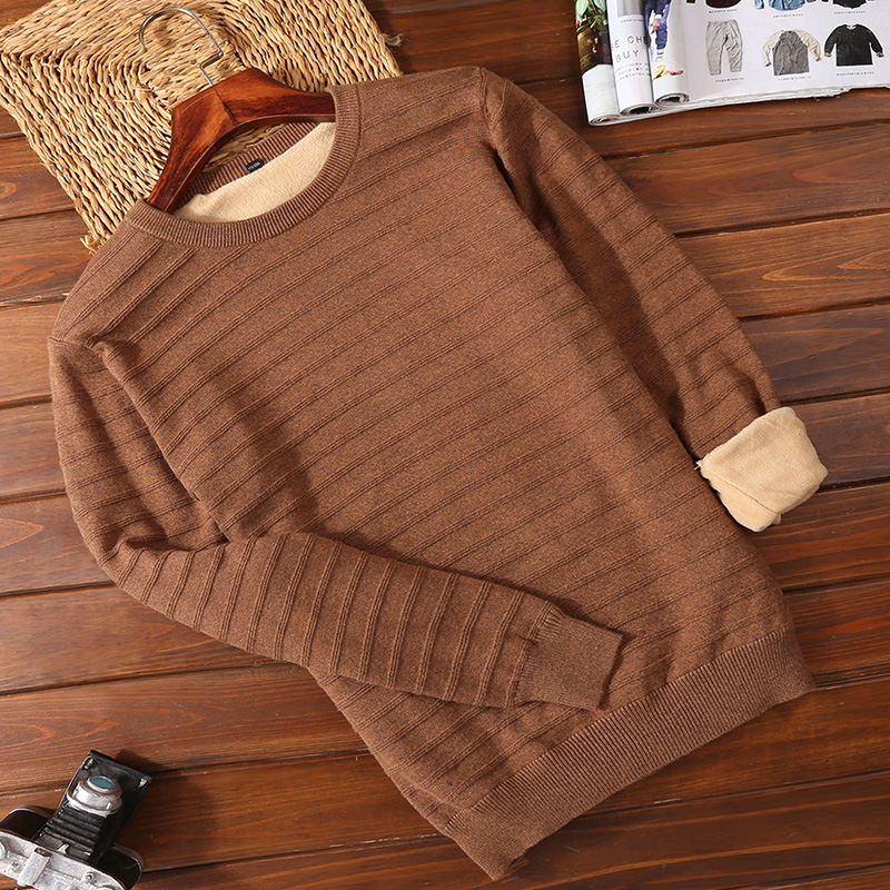 Plush 2502 Brown (round Neck)