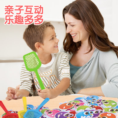 Baby toys, fly swatter, high frequency words, children's educational toys, interactive parent-child board games, concentration training, learn English